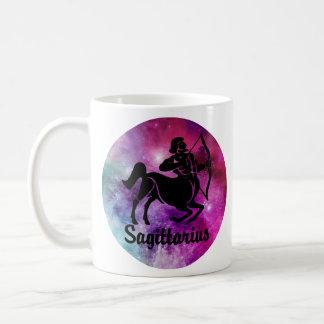Sagittarius On Space Background Coffee Mug