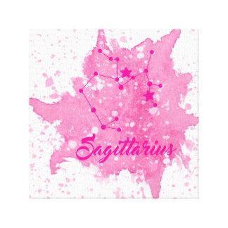 Sagittarius Pink Wall Art