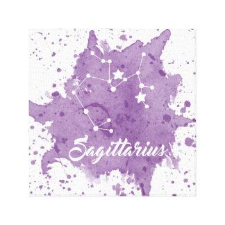 Sagittarius Purple Wall Art