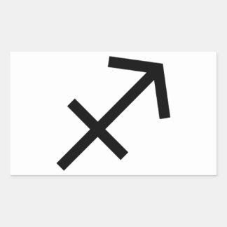 Sagittarius Rectangular Sticker