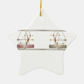 Sagittarius Sagittarius friendship Ornaments