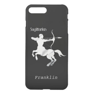 Sagittarius Silver Archer Zodiac Personal iPhone 7 Plus Case