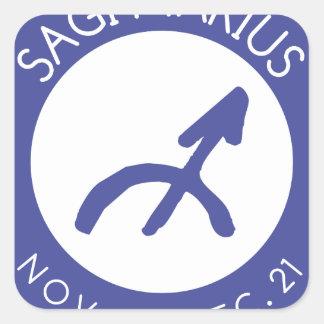 Sagittarius Square Sticker