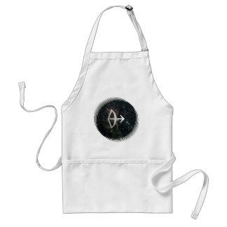 Sagittarius Star Sign Universe Crafts Cook Chef Apron