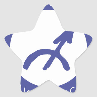 Sagittarius Star Sticker