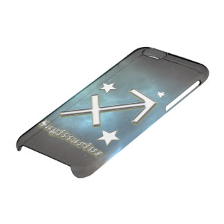 Sagittarius symbol clear iPhone 6/6S case