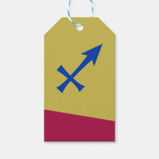 Sagittarius symbol gift tags