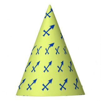 Sagittarius symbol party hat