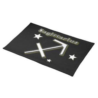 Sagittarius symbol place mat