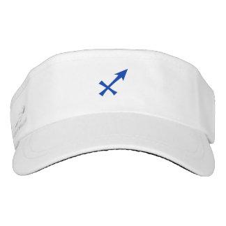 Sagittarius symbol visor
