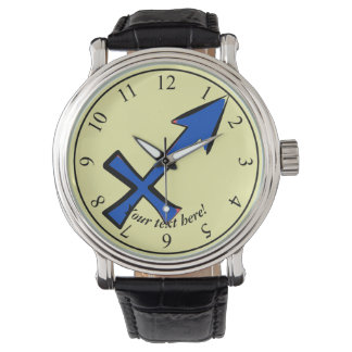 Sagittarius symbol watch
