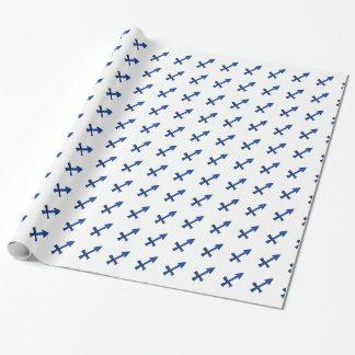 Sagittarius symbol wrapping paper