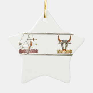 Sagittarius Taurus friendship Ornament