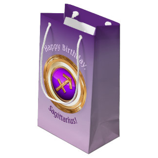 Sagittarius - The Archer Zodiac Sign Small Gift Bag