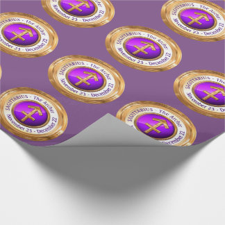 Sagittarius - The Archer Zodiac Sign Wrapping Paper