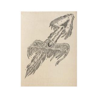 Sagittarius the Wanderer Wood Poster