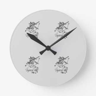 Sagittarius Wall Clock Sag Astrology