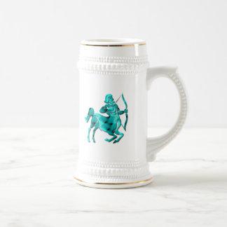 Sagittarius Zodiac Beer Stein Coffee Mugs