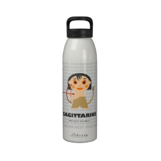 Sagittarius Zodiac Bottle for kids Reusable Water Bottle