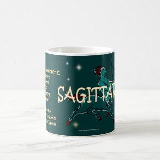 Sagittarius zodiac character mugs