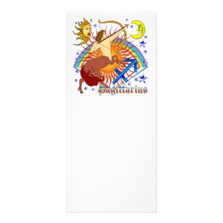 Sagittarius-Zodiac-Design-V-1 10 Cm X 23 Cm Rack Card