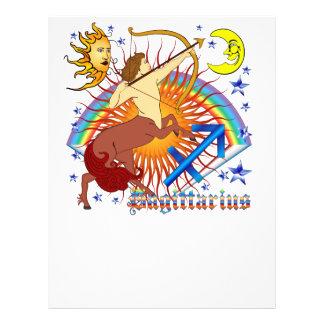 Sagittarius-Zodiac-Design-V-1 21.5 Cm X 28 Cm Flyer