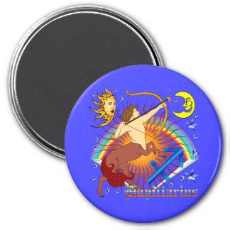 Sagittarius-Zodiac-Design-V-1 7.5 Cm Round Magnet