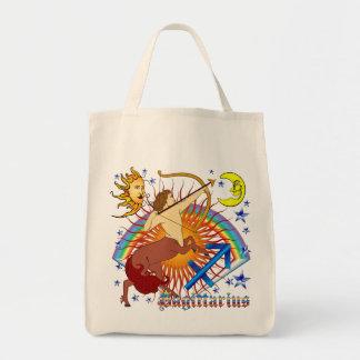 Sagittarius-Zodiac-Design-V-1 Tote Bags