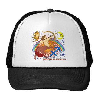 Sagittarius-Zodiac-Design-V-1 Mesh Hat