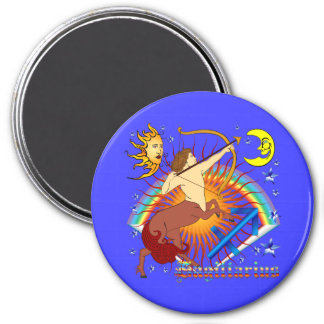 Sagittarius-Zodiac-Design-V-1 Fridge Magnets