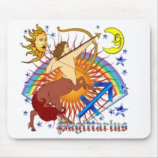 Sagittarius-Zodiac-Design-V-1 Mouse Pad