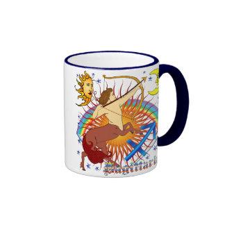 Sagittarius-Zodiac-Design-V-1 Ringer Mug