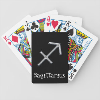 Sagittarius  Zodiac-faux metal Card Deck