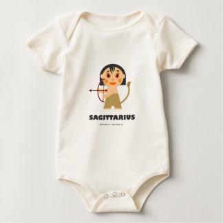 Sagittarius Zodiac for kids Baby Bodysuit