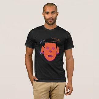 Sagittarius Zodiac Galactic Dreamer Orange Head T-Shirt