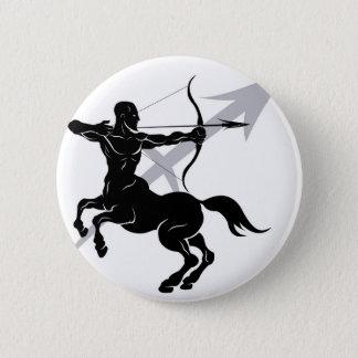 Sagittarius zodiac horoscope astrology sign 6 cm round badge