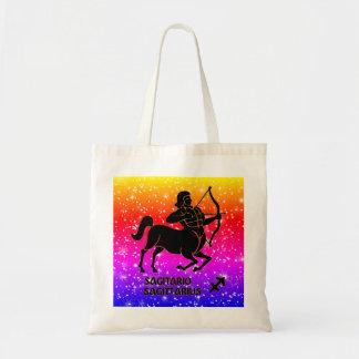 Sagittarius Zodiac Modern Tote Bags