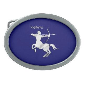 Sagittarius Zodiac Oval Belt Buckles