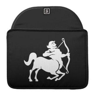 Sagittarius Zodiac Pictogram MacBook Pro Sleeve