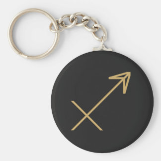 Sagittarius Zodiac Sign Basic Key Ring
