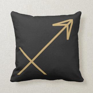 Sagittarius Zodiac Sign Basic Throw Pillow
