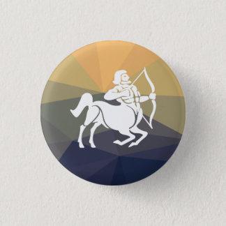 Sagittarius zodiac sign,centaurus round button. 3 cm round badge