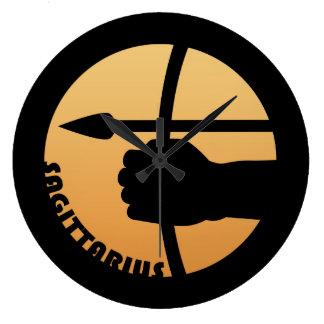 Sagittarius Zodiac Sign Clock