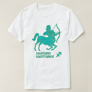 Sagittarius Zodiac sign color Modern T-Shirt