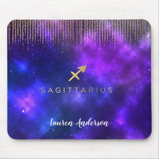 Sagittarius  Zodiac Sign Computer Mousepad
