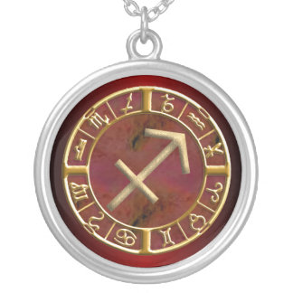 Sagittarius Zodiac Sign Necklace