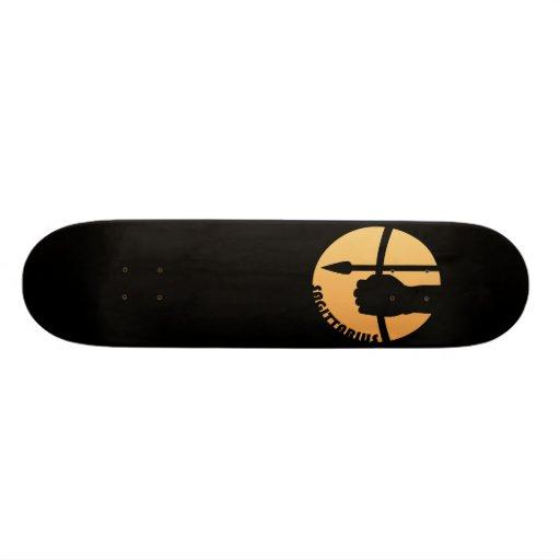 Sagittarius Zodiac Sign Custom Skateboard