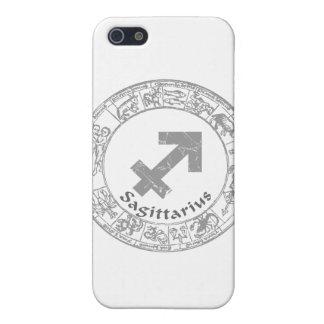 Sagittarius Zodiac sign vintage iPhone 5 Case