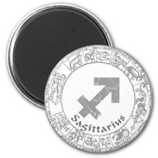 Sagittarius Zodiac sign vintage Refrigerator Magnets