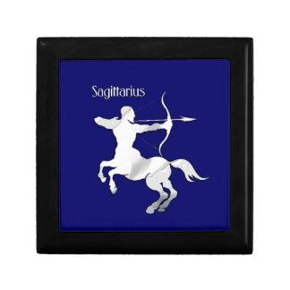 Sagittarius Zodiac Small Square Gift Box